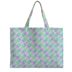 Pattern Zipper Mini Tote Bag by gasi