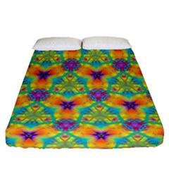 Pattern Fitted Sheet (queen Size) by gasi