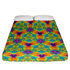 Pattern Fitted Sheet (california King Size) by gasi