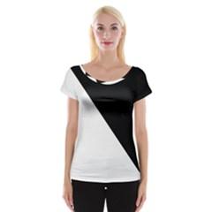 Pattern Cap Sleeve Tops