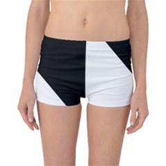Pattern Boyleg Bikini Bottoms