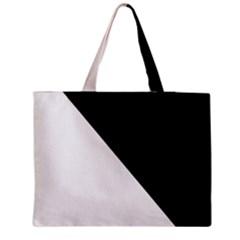 Pattern Zipper Medium Tote Bag