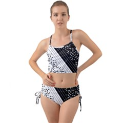 Pattern Mini Tank Bikini Set by gasi