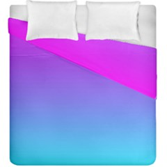 Pattern Duvet Cover Double Side (king Size) by gasi