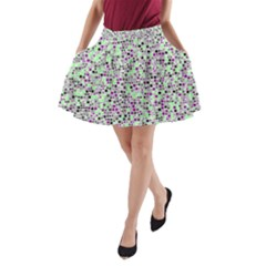 Pattern A Line Pocket Skirt by gasi
