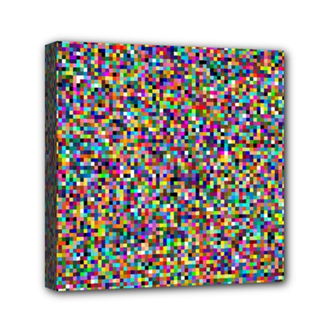 Pattern Mini Canvas 6  X 6  by gasi