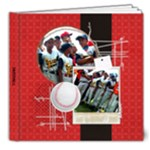 Baseball Softball Deluxe 8x8 photo book - 8x8 Deluxe Photo Book (20 pages)