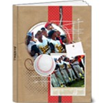 Baseball Softball Deluxe 9x12 Photo Book - 9x12 Deluxe Photo Book (20 pages)