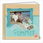 Summer Vacation - Beach - 8x8 Photo Book - 8x8 Photo Book (20 pages)