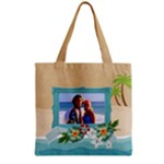 Beach - Summer - Grocery Tote - Grocery Tote Bag