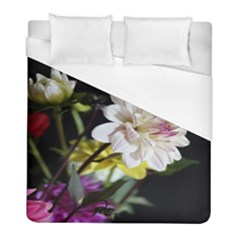 Dahlias Dahlia Dahlia Garden Duvet Cover (full/ Double Size) by Celenk