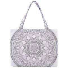 Mandala Ethnic Pattern Mini Tote Bag
