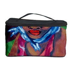Ethnic Africa Art Work Drawing Cosmetic Storage Case by Celenk