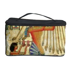 Egyptian Man Sun God Ra Amun Cosmetic Storage Case by Celenk