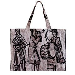 Man Ethic African People Collage Zipper Mini Tote Bag by Celenk