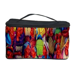Guatemala Art Painting Naive Cosmetic Storage Case by Celenk