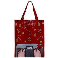 Hilarious Holidays  Zipper Classic Tote Bag by Valentinaart