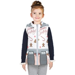 Hilarious Holidays  Kid s Puffer Vest by Valentinaart