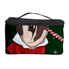Pug Xmas Cosmetic Storage Case by Valentinaart