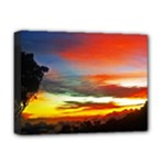 Sunset Mountain Indonesia Adventure Deluxe Canvas 16  x 12