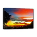 Sunset Mountain Indonesia Adventure Deluxe Canvas 18  x 12