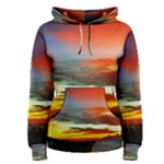 Sunset Mountain Indonesia Adventure Women s Pullover Hoodie