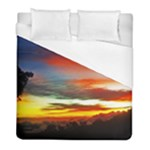 Sunset Mountain Indonesia Adventure Duvet Cover (Full/ Double Size)