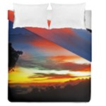 Sunset Mountain Indonesia Adventure Duvet Cover Double Side (Queen Size)