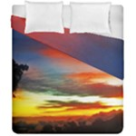 Sunset Mountain Indonesia Adventure Duvet Cover Double Side (California King Size)