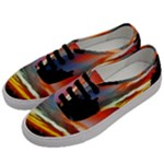 Sunset Mountain Indonesia Adventure Men s Classic Low Top Sneakers