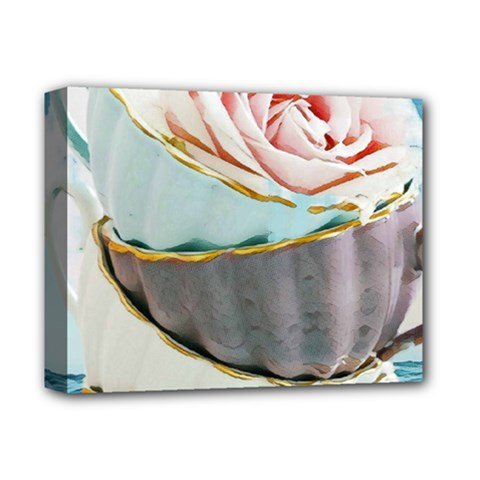 Tea Cups Deluxe Canvas 14  X 11  by 8fugoso