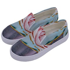 Tea Cups Kids  Canvas Slip Ons by 8fugoso