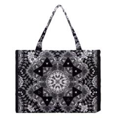 Mandala Calming Coloring Page Medium Tote Bag by Celenk