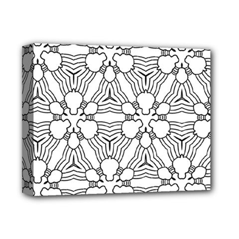 Pattern Design Pretty Cool Art Deluxe Canvas 14  X 11  by Celenk