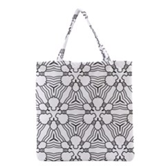 Pattern Design Pretty Cool Art Grocery Tote Bag by Celenk