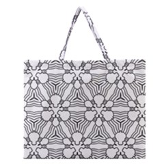 Pattern Design Pretty Cool Art Zipper Large Tote Bag by Celenk