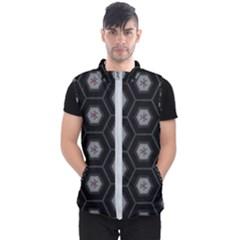 Mandala Calming Coloring Page Men s Puffer Vest