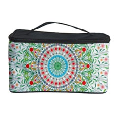 Flower Abstract Floral Cosmetic Storage Case by Celenk