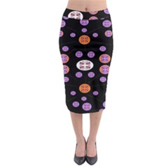 Planet Say Ten Midi Pencil Skirt by MRTACPANS