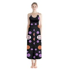 Planet Say Ten Button Up Chiffon Maxi Dress by MRTACPANS
