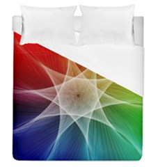 Abstract Star Pattern Structure Duvet Cover (queen Size)