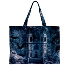 Church Stone Rock Building Zipper Mini Tote Bag by Celenk