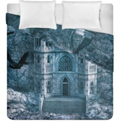 Church Stone Rock Building Duvet Cover Double Side (King Size)