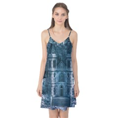 Church Stone Rock Building Camis Nightgown