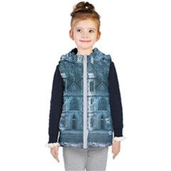 Church Stone Rock Building Kid s Puffer Vest