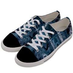 Church Stone Rock Building Women s Low Top Canvas Sneakers