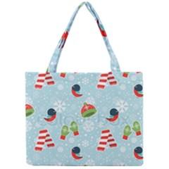 Winter Fun Pattern Mini Tote Bag by allthingseveryone