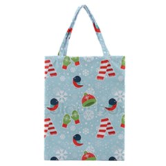 Winter Fun Pattern Classic Tote Bag by AllThingsEveryone