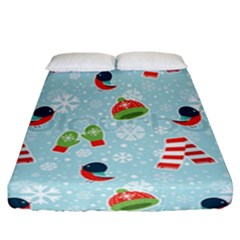 Winter Fun Pattern Fitted Sheet (california King Size) by allthingseveryone