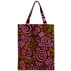 Aboriginal Art   You Belong Zipper Classic Tote Bag by hogartharts